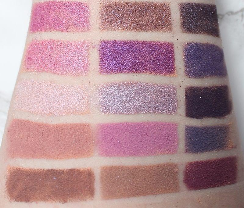 Best Purple Eyeshadows, Lipsticks and Blush - Purple Eyeshadow Swatches 3