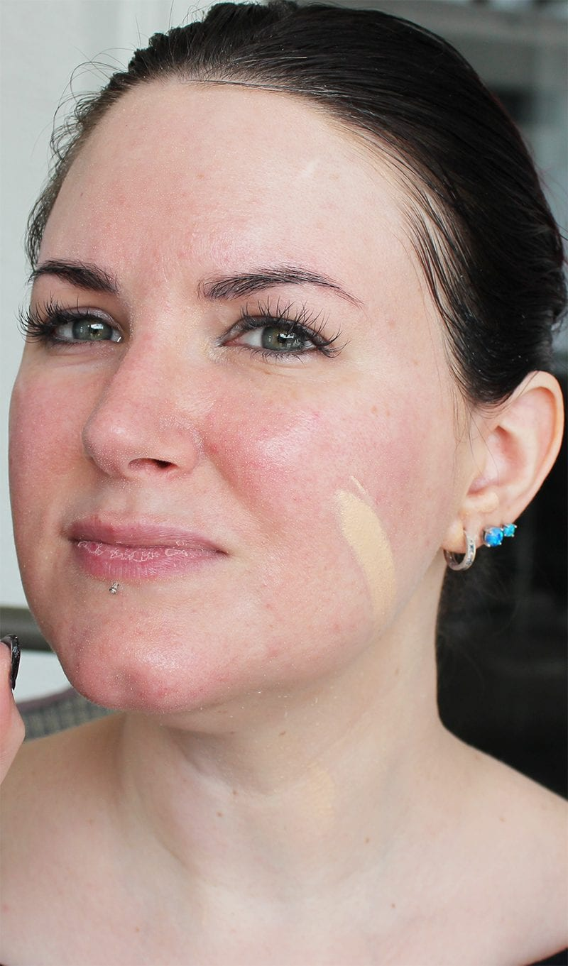 The Body Shop Fresh Nude Foundation in Chelsea swatch
