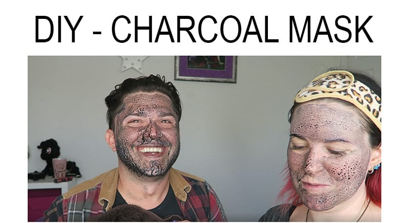 Charcoal Mask - How to make a charcoal mask at home for your face