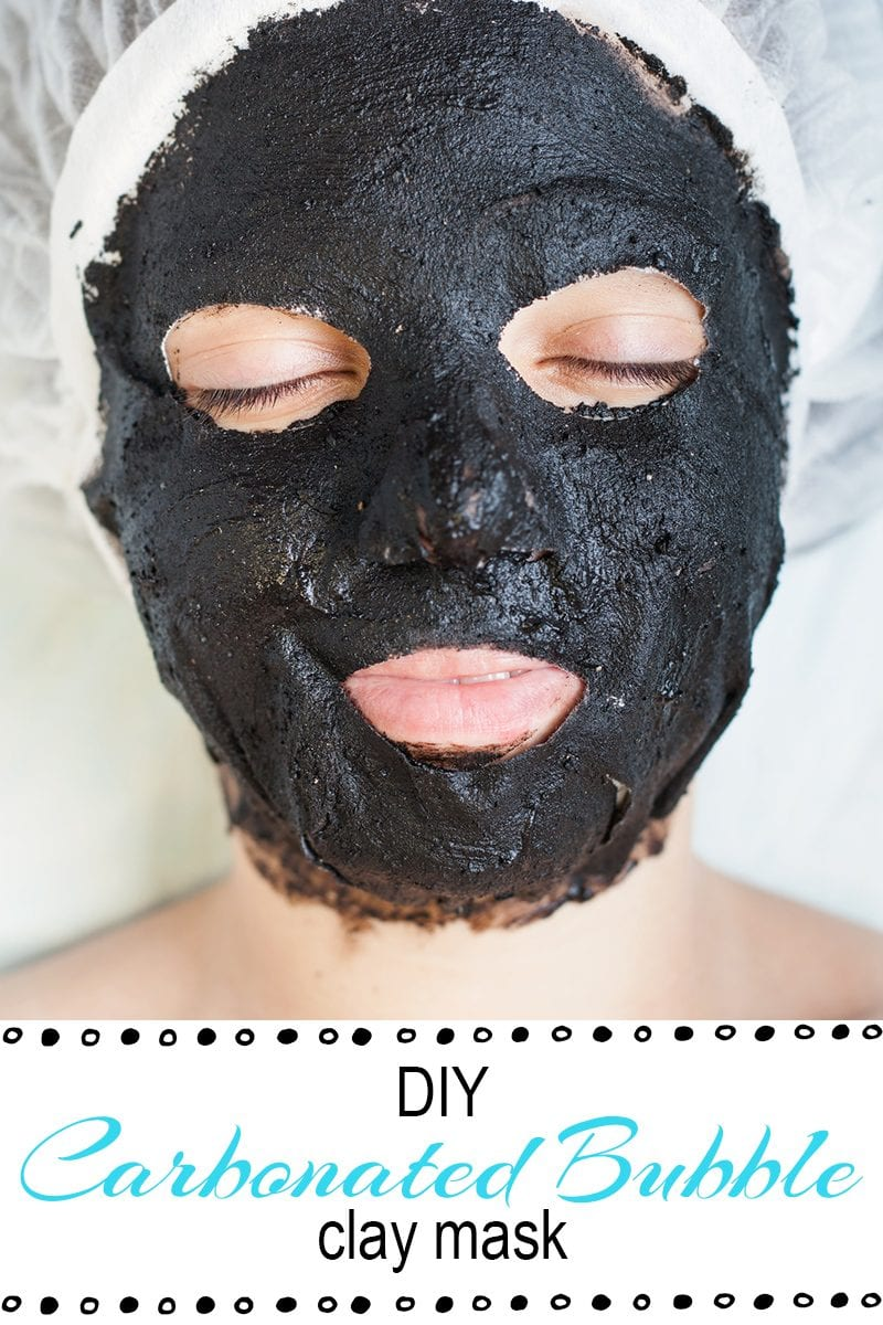 DIY Carbonated Bubble Clay Mask - Facial masks are all the rage these days so so I decided to make a DIY Carbonated Bubble Clay Mask and share it with you. After researching face masks, I found that you can pick up all the ingredients that you need in a health food store like Whole Foods or you can buy them on Amazon.