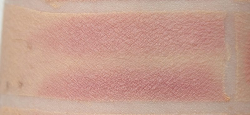 Dose of Colors Rosy swatched on pale skin