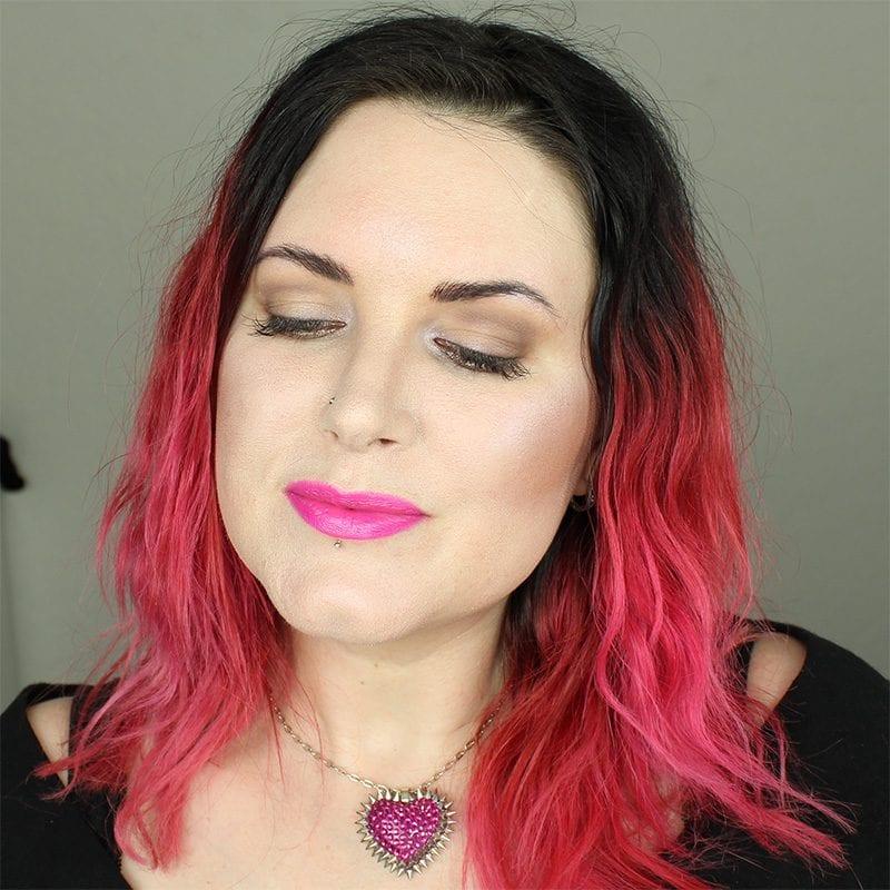 February Beauty Favorites - Wearing Urban Decay Frenemy Lipstick