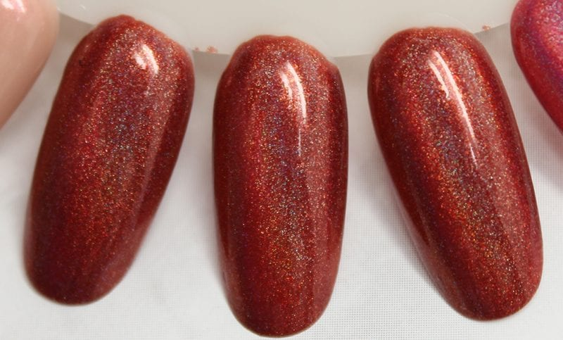 KBShimmer I Never Wood Have Guessed nail polish swatch