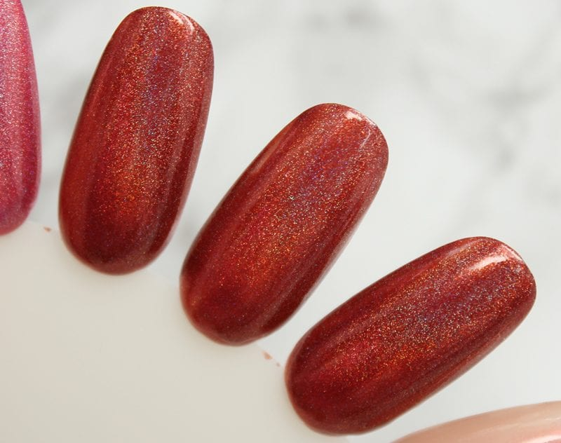 KBShimmer I Never Wood Have Guessed swatch