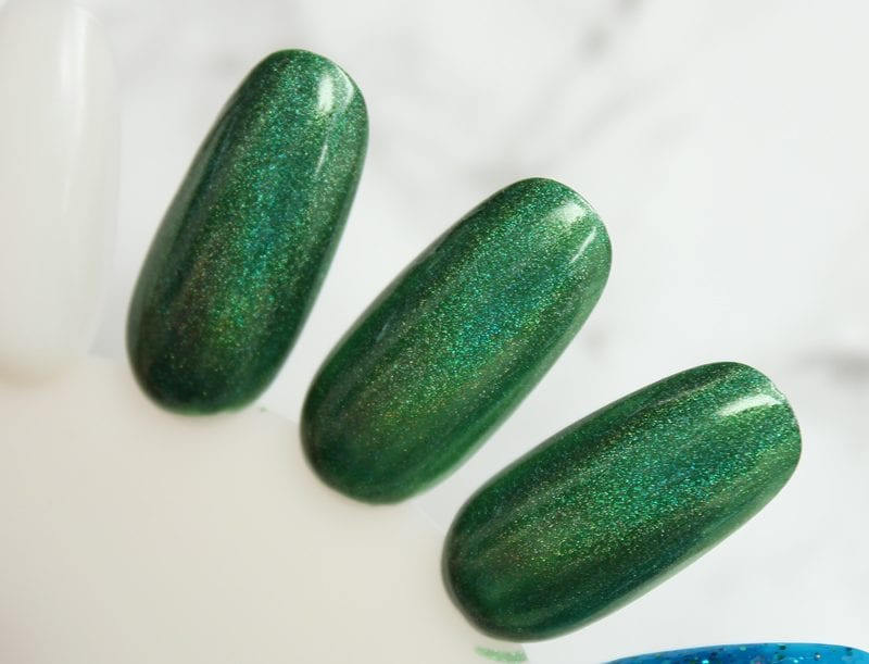 KBShimmer Keep Palm and CarryOn swatch