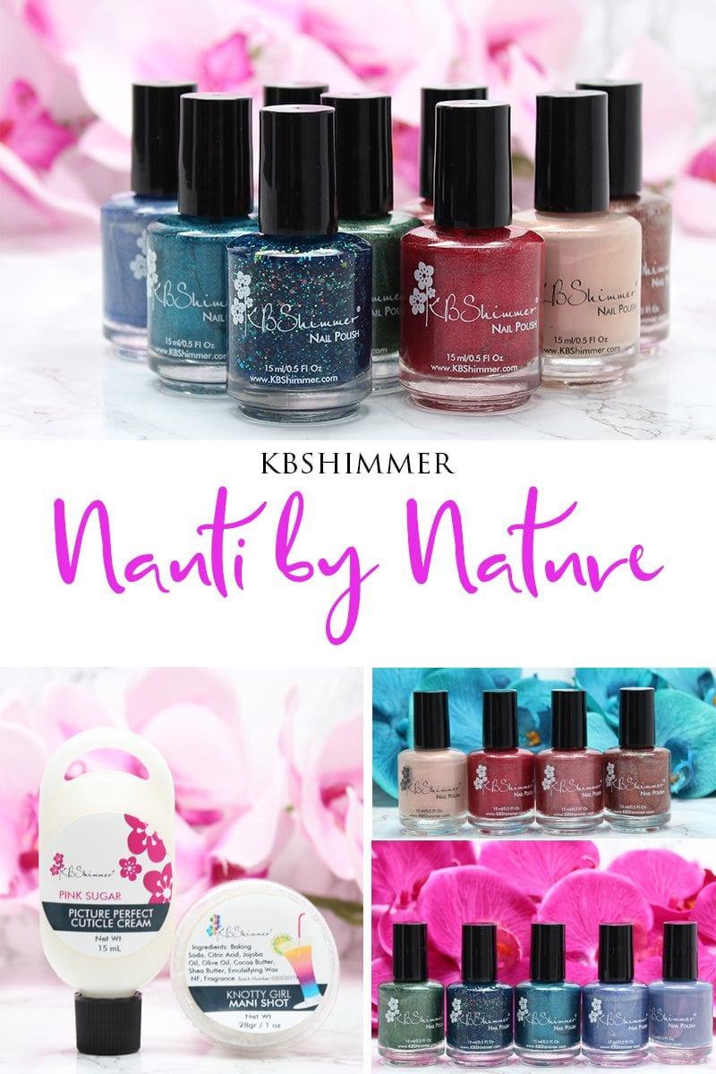 KBShimmer Nauti By Nature Nail Polish Review
