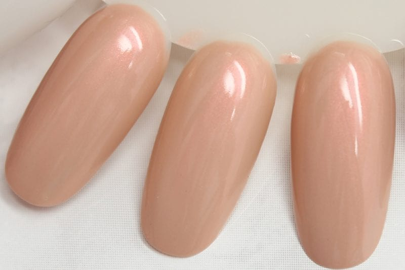 KBShimmer Saved by the Shell nail polish swatch