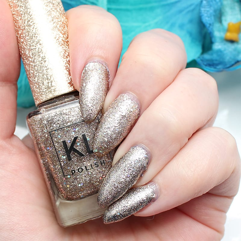 KL Polish Das Esspensive XXV - Review & swatches on pale skin