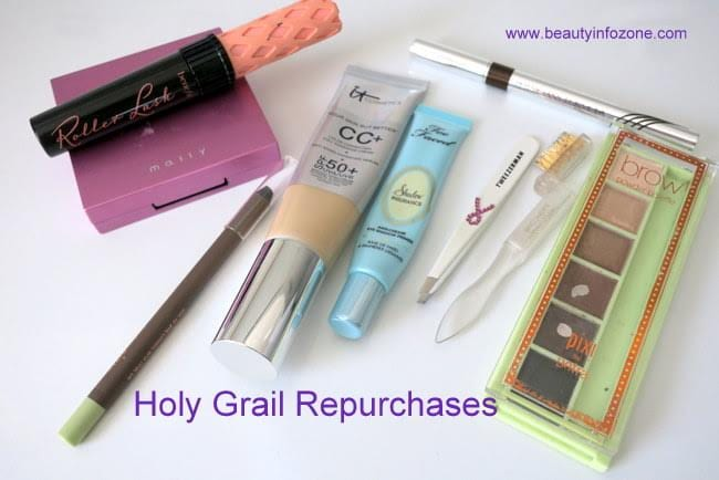 Marcia's Holy Grail Beauty Products