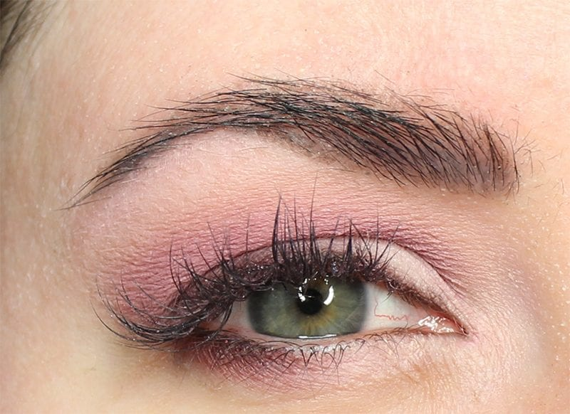 Dose of Colors Marvelous Mauves Eyeshadow Look on Pale Skin