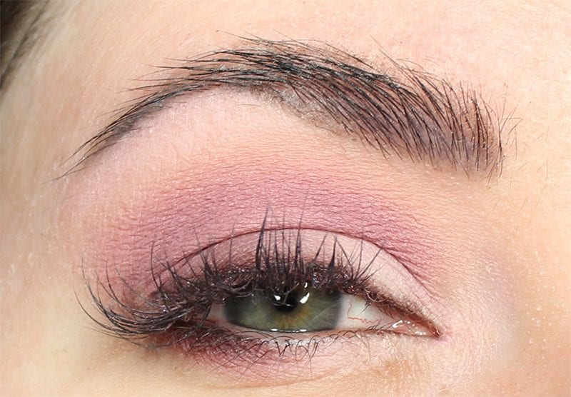 Dose of Colors Marvelous Mauves Eyeshadow Look on Blue Green Eyes