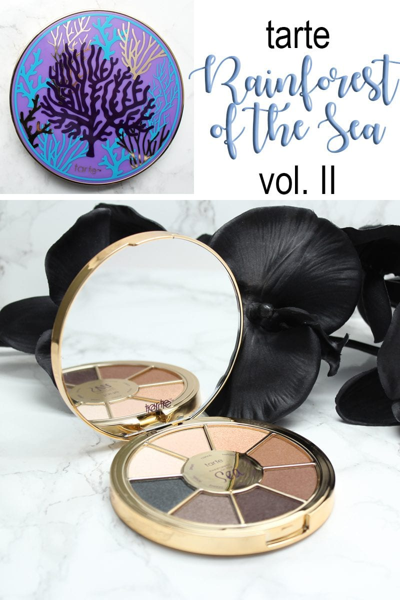 Tarte Rainforest of the Sea Eyeshadow Palette Vol. II - cruelty free makeup