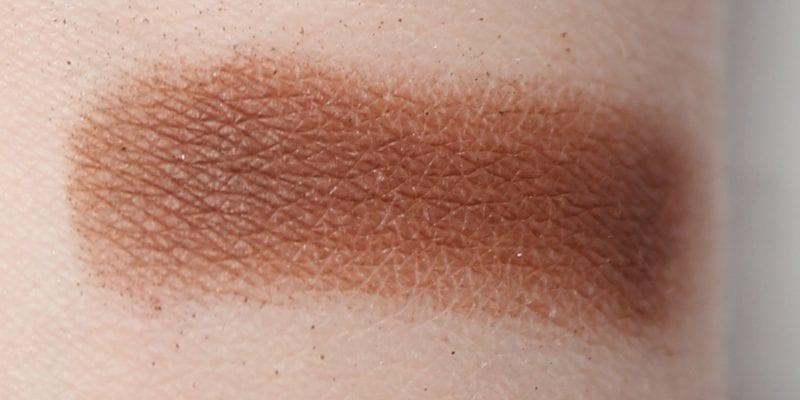 Tarte Rainforest of the Sea Eyeshadow Palette Vol. II Seaside swatch on pale skin