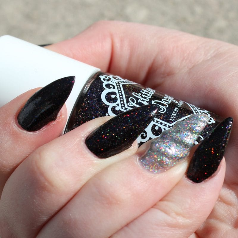 Unicorn Horn Mani How To - Create Your Own Magical Unicorn Manicure with Glitterdaze Bellatrix