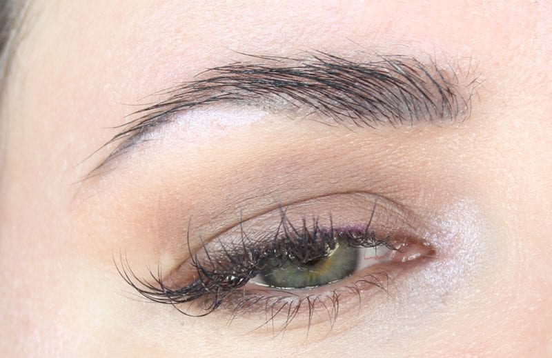 Simple hooded eye makeup look with Urban Decay Tease and Desperation