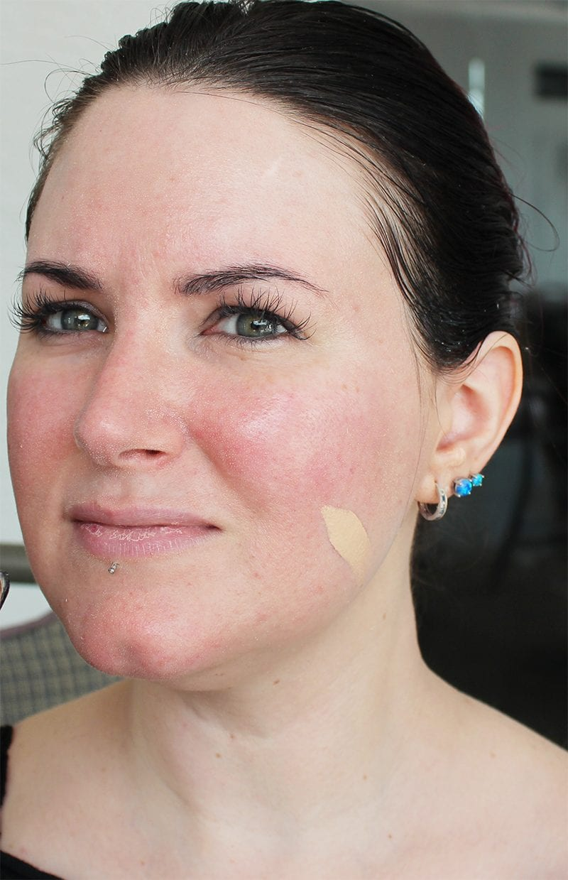 Urban Decay Naked Skin Foundation in .05 swatch