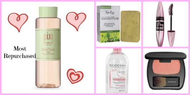 Cindy's 6 Most Repurchased Beauty Products