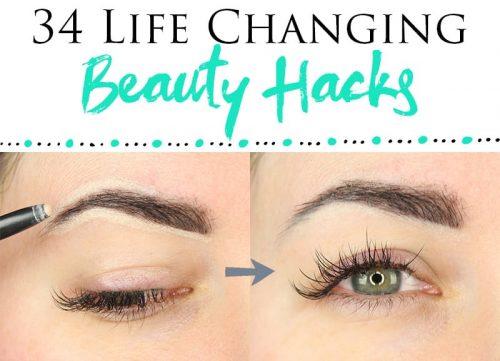 34 Best Makeup Hacks