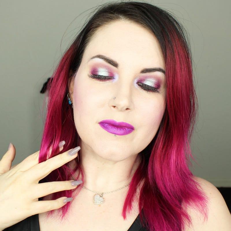 Wearing Kat Von D Everlasting Lip Liner in L.U.V.