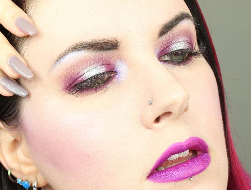 Purple Halo Eye Tutorial for Hooded Eyes