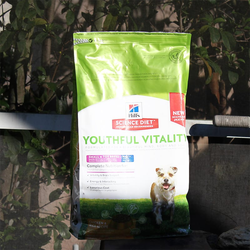 Hill's Science Diet Youthful Vitality dog food
