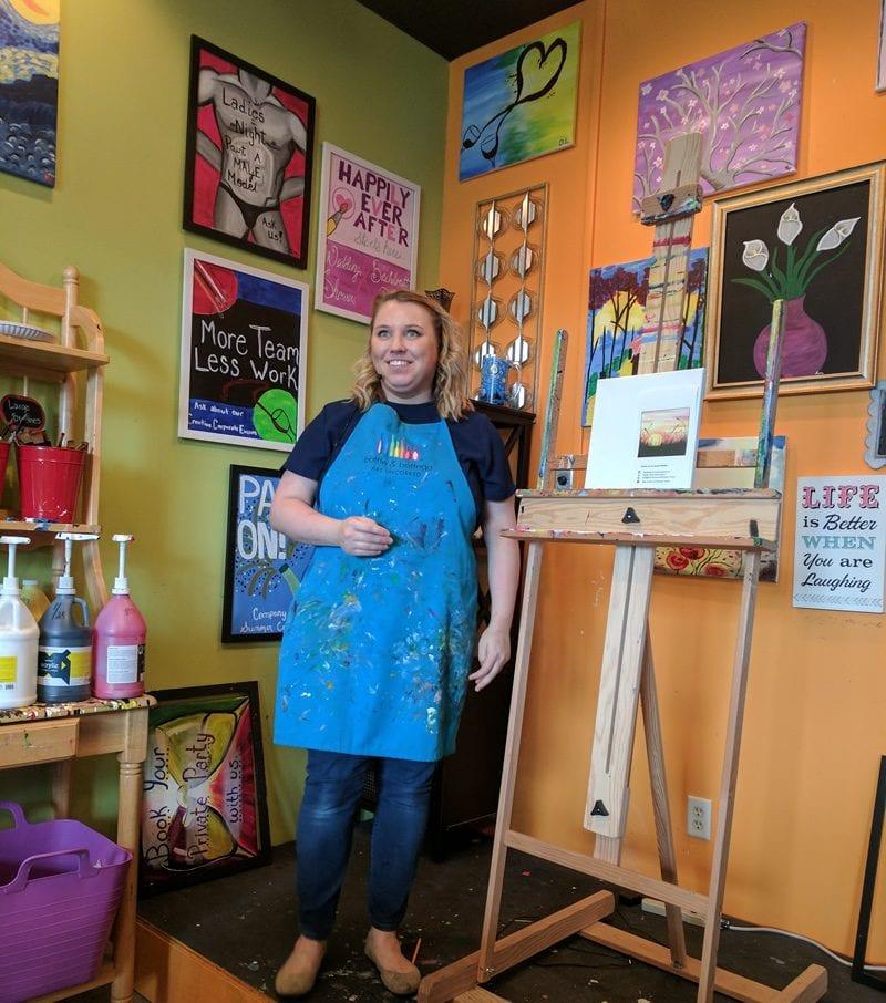 Art Instructor at Bottle and Bottega Tampa