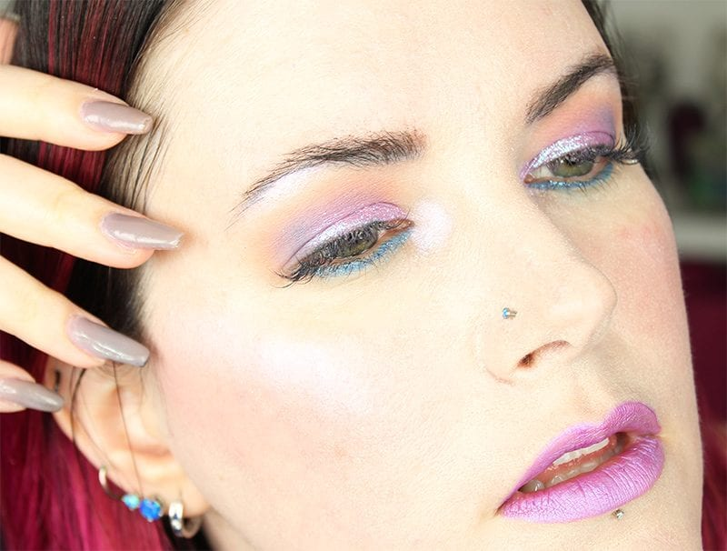 Cruelty-Free Makeup Tutorial | Pastel Goth Makeup Tutorial