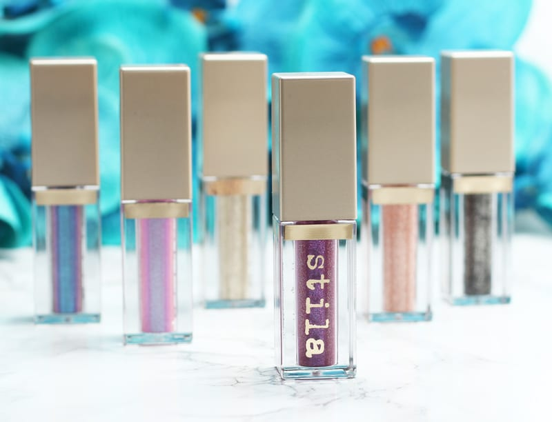 stila Magnificent Metals Glitter & Glow Liquid Eyeshadows Review, Swatches, Look