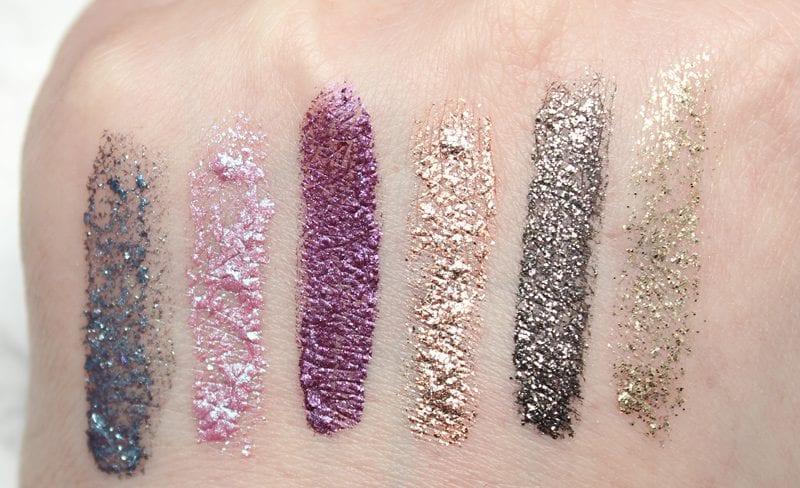 stila Magnificent Metals Glitter & Glow Liquid Eyeshadows