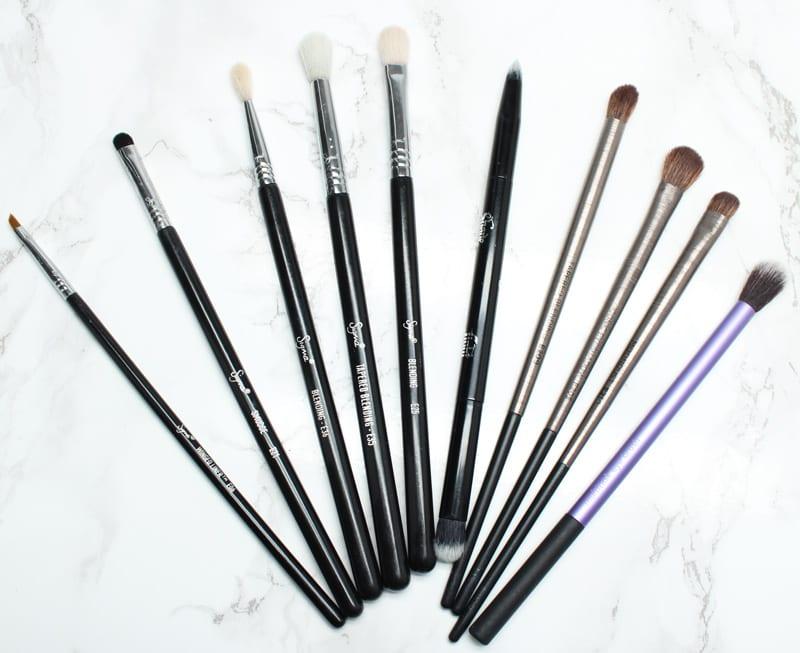 Must Have Vegan Makeup Brushes - Top 10 Vegan Eye Brushes