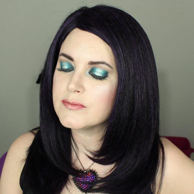 Wearing Kat Von D Everlasting Lip Pencil in OG Lolita