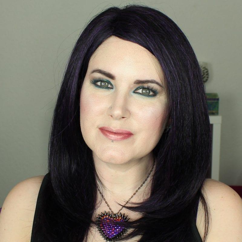Wearing Makeup Geek and Kat Von D