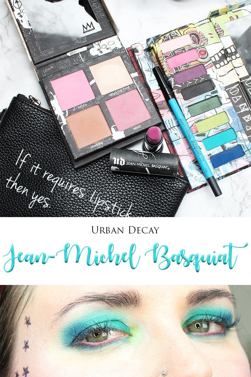 I wanted to share my Urban Decay Basquiat Tutorial and look with you. I bought the Basquiat Tenant palette and Vivid eyeliner during the Sephora VIB Rouge sale. Yesterday Urban Decay sent me the rest of the collection.