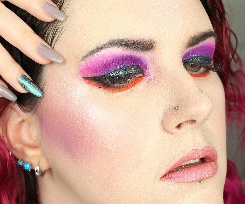 Wearing Kat Von D OG Lolita pencil, Muneca liquid lipstick, and Alchemist Opal