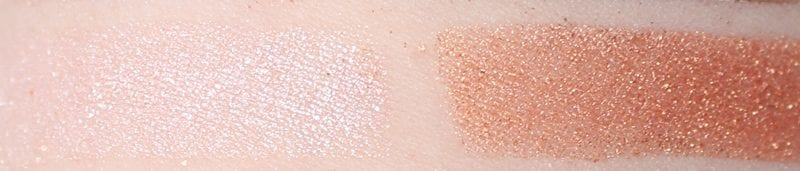 BH Cosmetics Carli Bybel Deluxe Palette Highlighter Swatches