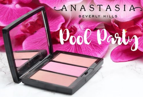 Anastasia Beverly Hills Pool Party Blush Trio