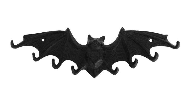 Cast Iron Bat Key Hook