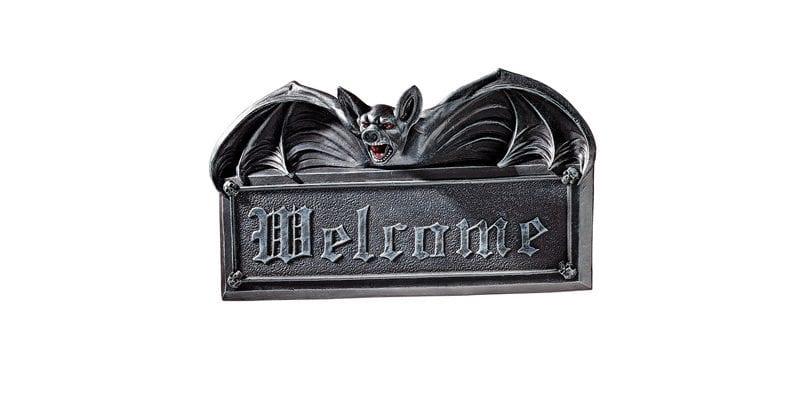 Bat Welcome Sculpture