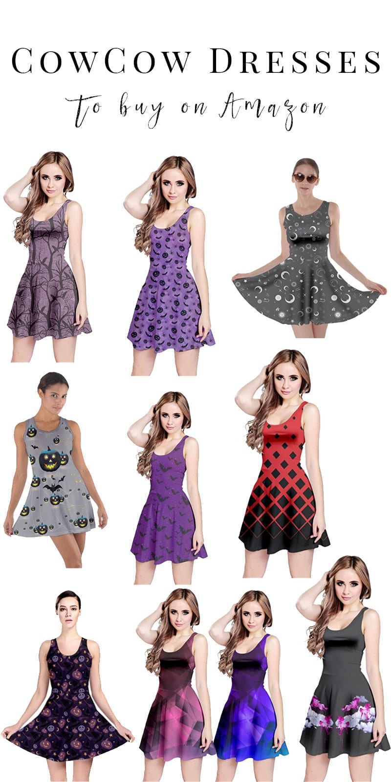 Top 10 CowCow dresses to buy on Amazon. CowCow dresses range in price from $12 to $21. They're extremely comfortable to wear in the hot humid heat of the eternal Florida Summer.