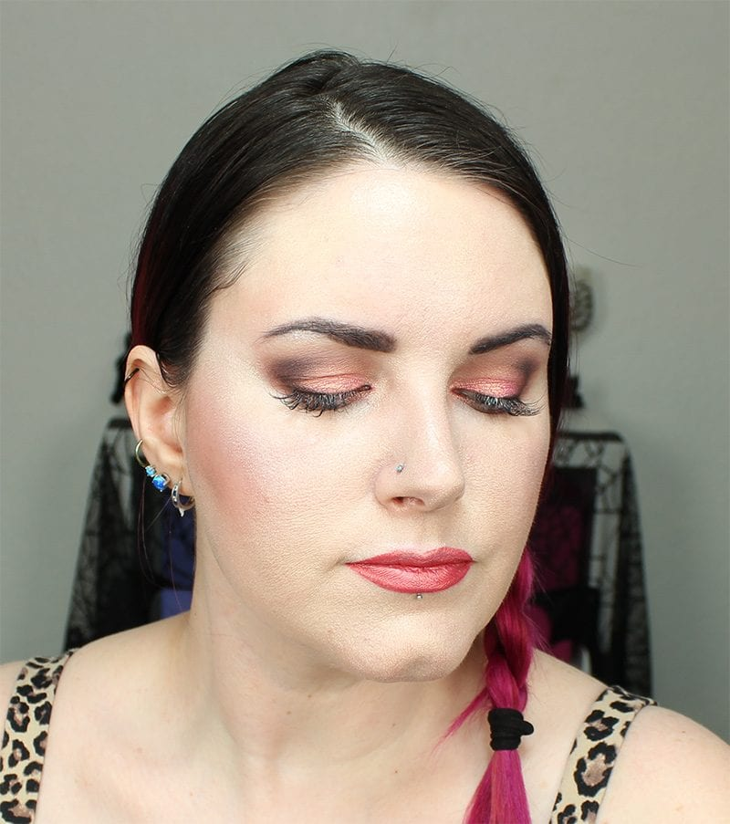 BH Cosmetics Carli Bybel Deluxe Palette Tutorial Look for Hooded Eyes