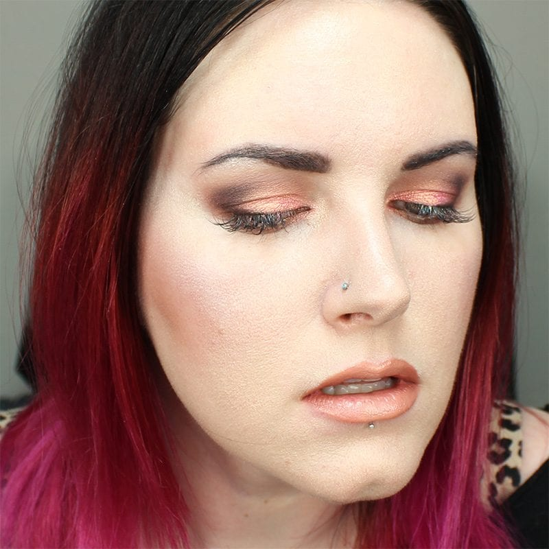 Rose Gold Lips and Eyes