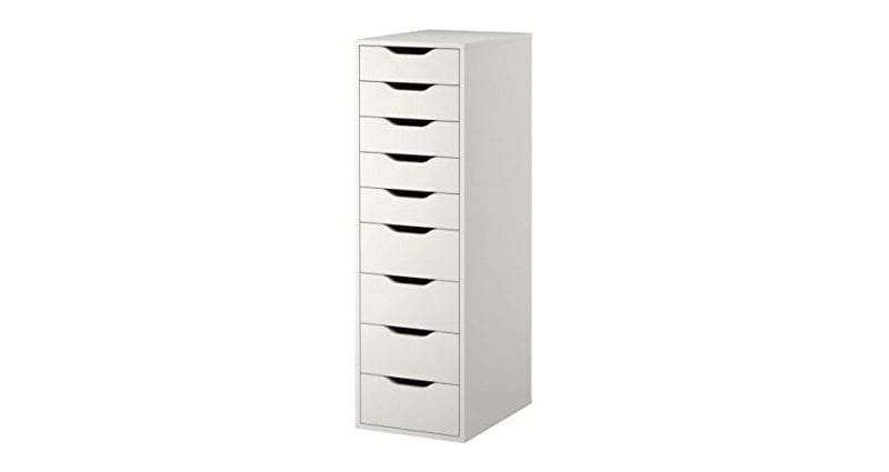 Ikea Alex 9 Drawer