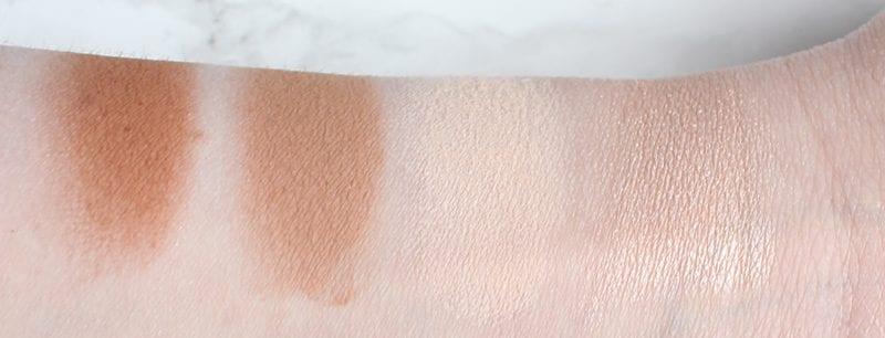 Urban Decay Naked Skin Shapeshifter Light Medium Shift Powder Swatches