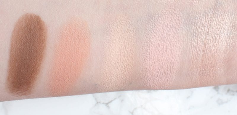 Urban Decay Naked Skin Shapeshifter Light Medium Shift Cream Swatches