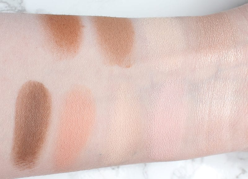 Urban Decay Naked Skin Shapeshifter Light Medium Swatches