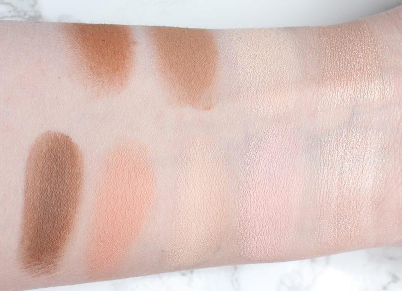 Urban Decay Naked Skin Shapeshifter Light Medium Swatches