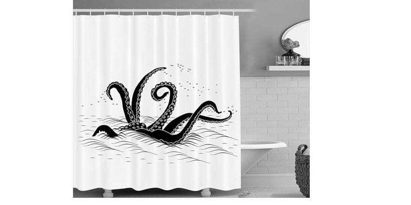 Tentacle Shower Curtain