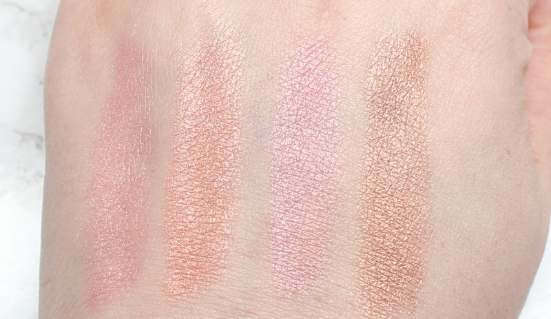 Silk Naturals Spring 2017 Collection Duochrome Blushes Swatches