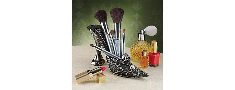Skull Slipper Makeup Brush Holder