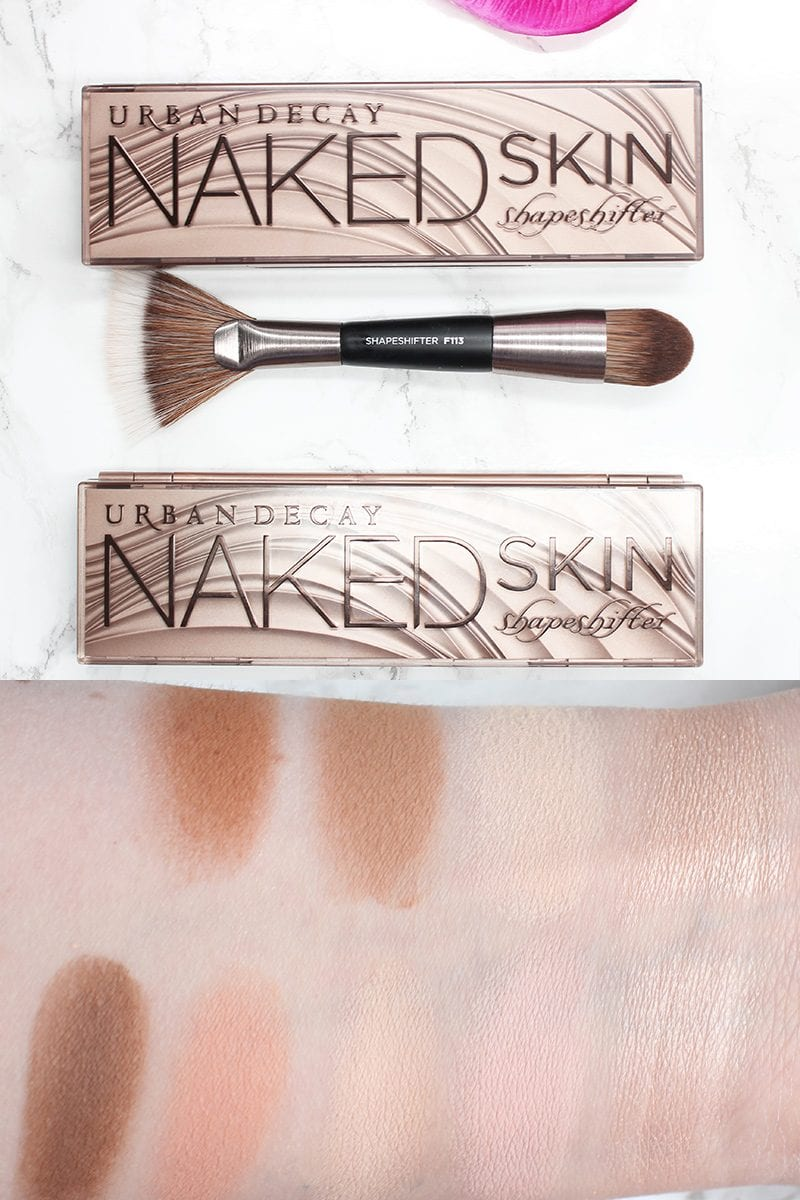 Today I'm sharing the new Urban Decay Naked Skin Shapeshifter Palette with you. Urban Decay sent me these palettes. Shapeshifter comes in two different shades. Light Medium Shift is ideal for .5 through 7.0. Medium Dark Shift is ideal for 6.0 - 12.0.